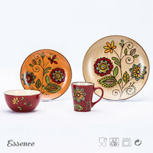 Cheap custom china stoneware opal dinnerware