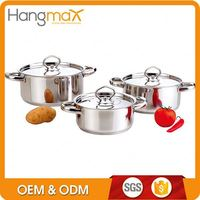 High quality happy baron cookware set