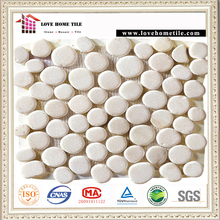 Cheap Pebble Mosaic Natural Stone Pebble Floor Tiles