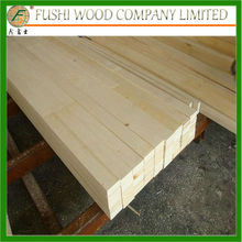 poplar lvl bed slats with round corner four sides