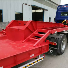 china made strong chassis custom lowboy semi truck traler