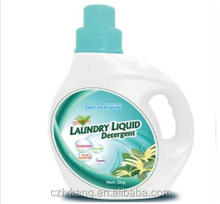OEM brand bulk washing detergent , liquid laundry detergent with nature flower fragrant