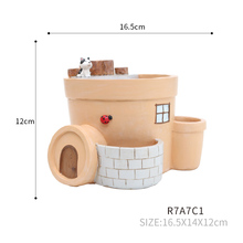 2017 New design elegant ceramic flower pots