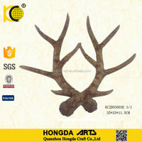 Home Decorative Anti Color Christmas Decorative Resin Deer Antler