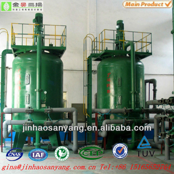 Walnut shell filter machine used for oily wastewater separation
