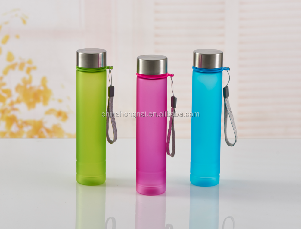280ml plastic drink bottle, rubber painting surface