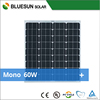 Bluesun mono high efficient 60w solar panel price