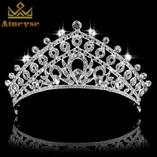 wedding hair accessories cheap tall pageant crown tiara Miss Universe Crown