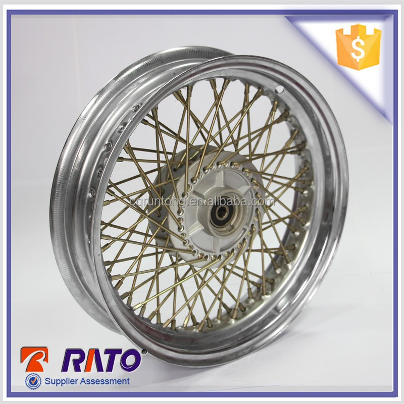 OEM 72 holes chrome plated 13 inch motorcycle wheels for sale