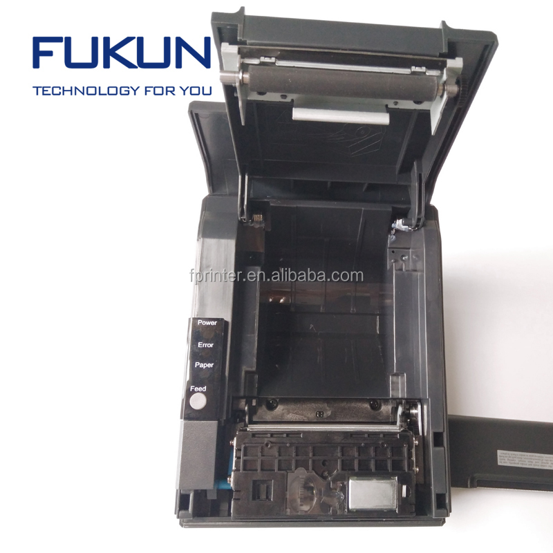 USB+Serial/Rs232/Parallel/Ethernet Connection Pos thermal Receipt Printer Comparable FK-POS80BH