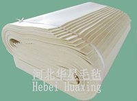 Manufacturer 100% Industry Wool Felt,White,1-10mm