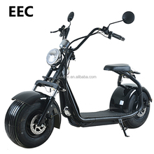 2018 EEC electric citycoco motorcycle scooter fat wheel motorcycle
