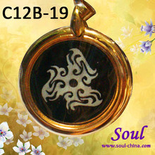 Alloy zinc new life energy pendant necklace Suitable for gift-giving