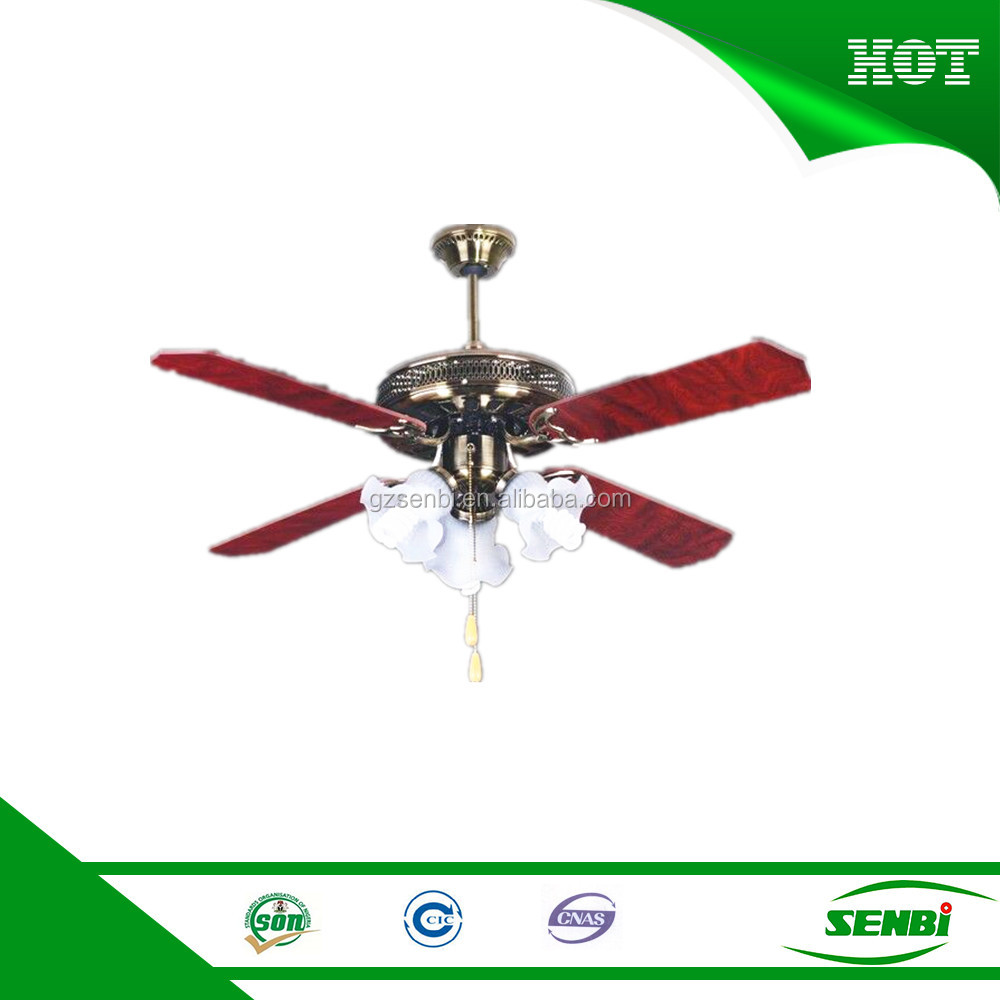 home appliance ac motor 42'' decorative ceiling fan with light parts manufacturers
