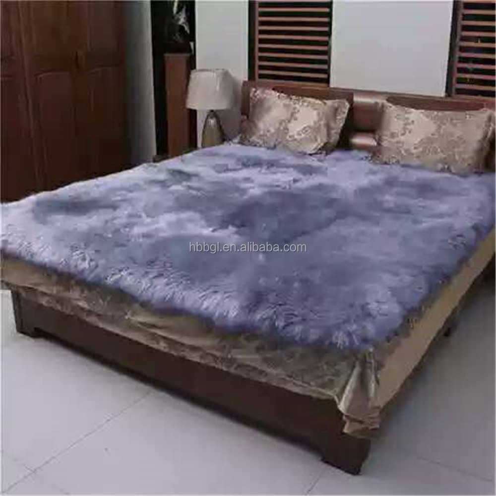 Soft and Comfortable Long Pile Shaggy bed Carpet and Rug Woolen Blanket