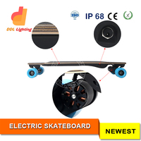 DDL electric skate board scooter cheap electric scooter for adults electric self balance board with remote controller