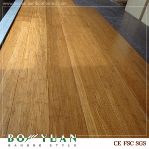 High Quality Eco-Forest Dark Carbonized Color Strand Woven Bamboo House Philippines floor
