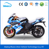 Cheap 72V 2000w Fast Racing Electric Motorcycle with Lithium Battery