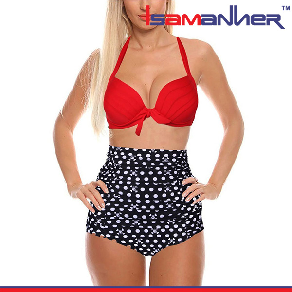 Fancy girl bikini for mature women