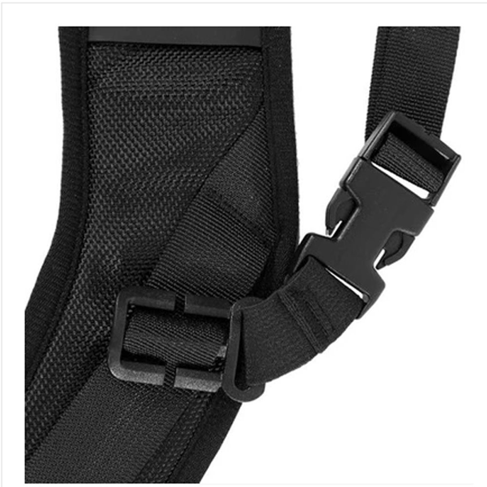 Camera strap Belt Quick Rapid Shoulder Sling Neck for Camera DSLR(Black)