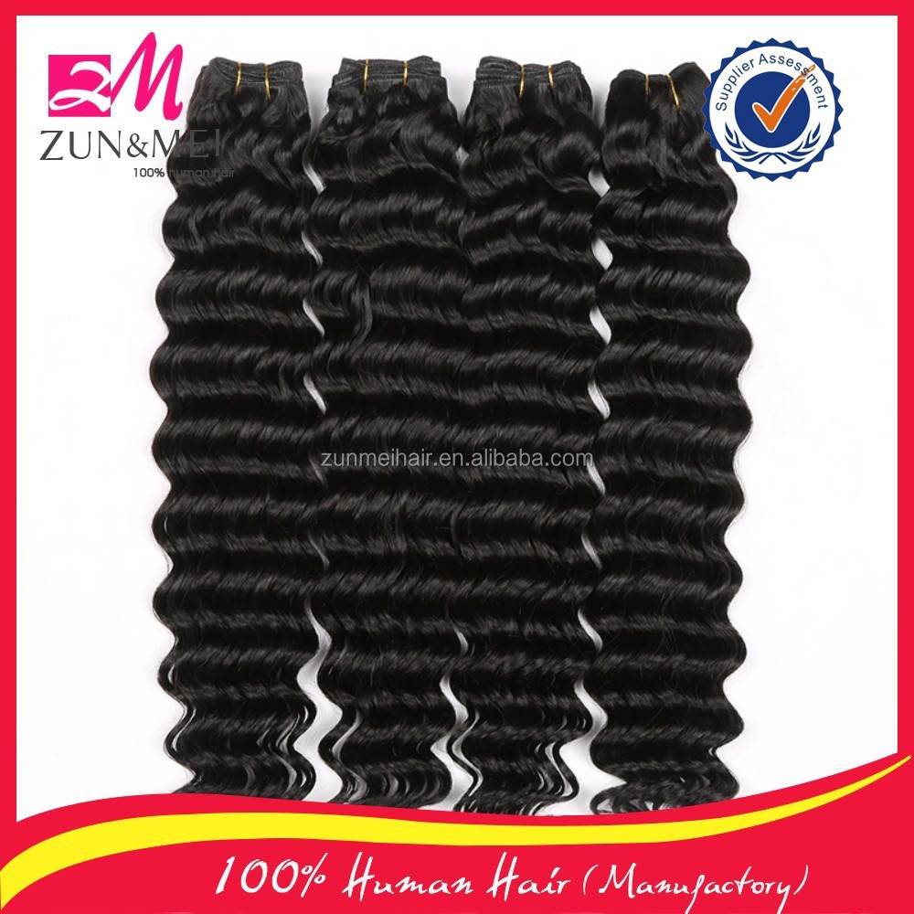 wholesale hair bundle beautiful human hair style hot selling 8inch-40inch brazilian deep wave hair