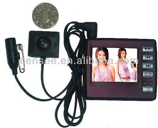 2013 mini latest first night hidden camera videos(CS-6709)