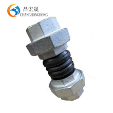 WRAS certification connector double sphere union type rubber expansion joint sheets