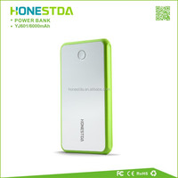 Emergency Mobile Phone 6000mAh Backup Battery Charger