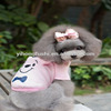 Warm Pet Clothes /Hot Sale Pet Winter Hoodies Clothing for Dog /Cartoon Little Pig Clothes