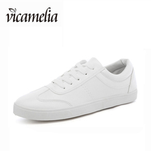 Wholesale China White Leather Casual Shoes For Men Fashion Flat Sole Shoes