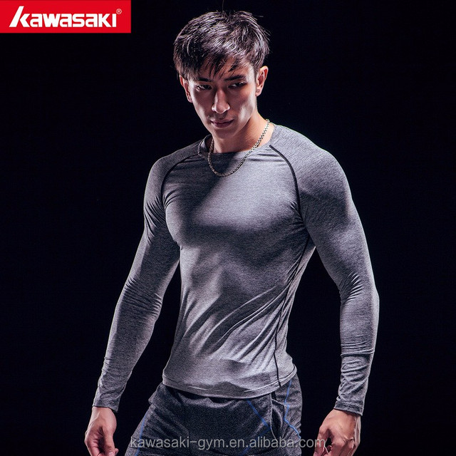 Professional printing compression shirt design your own mens fitness clothing
