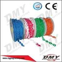 China QD factory CE Certification approved large long colorful plastic link chain
