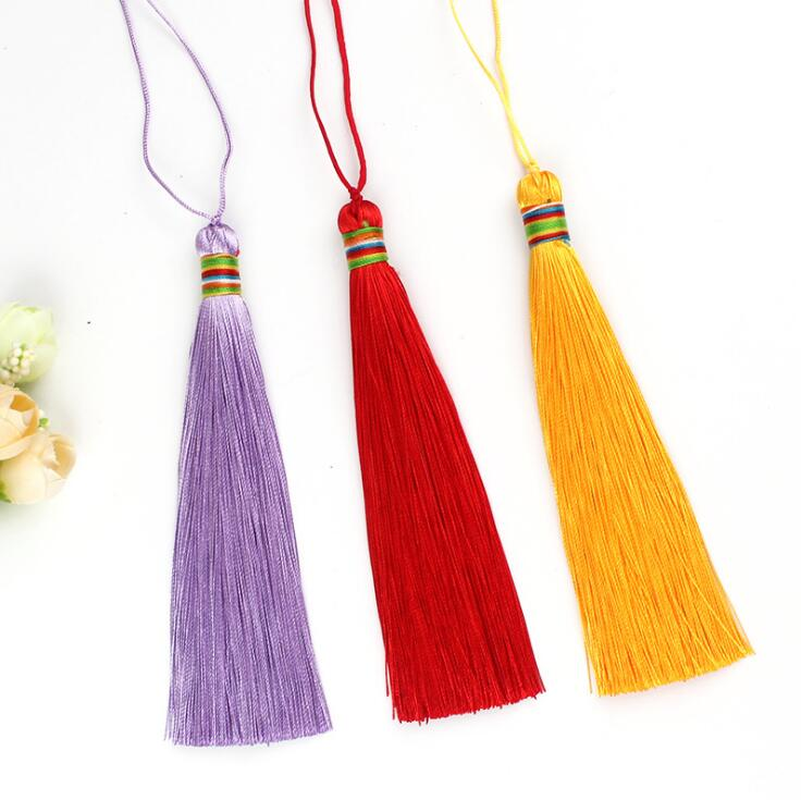 curtain accessory cotton tassel fringe