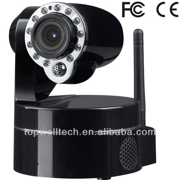 720P CMOS 3X Optical Zoom Wireless PTZ IP webcamera 2-Way Audio IR-Cut