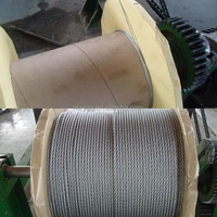 1x7 galvanized steel messenger cable 1x19 steel strand wire cable