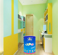Healthy Interior Emulsion Latex Paint for Children Room