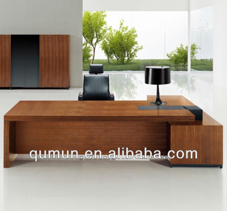 Moderna mesa de escrit rio chefe mesa de escrit rio mesa - Mesa escritorio moderna ...