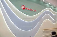 rigid sheet plastic wall board baseboard moulding