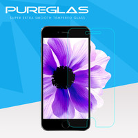 wholesale top quality 9h hardness pureglas 0.33mm tempered glass screen protector