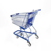Ownace colorful trolley germany style supermarket cart