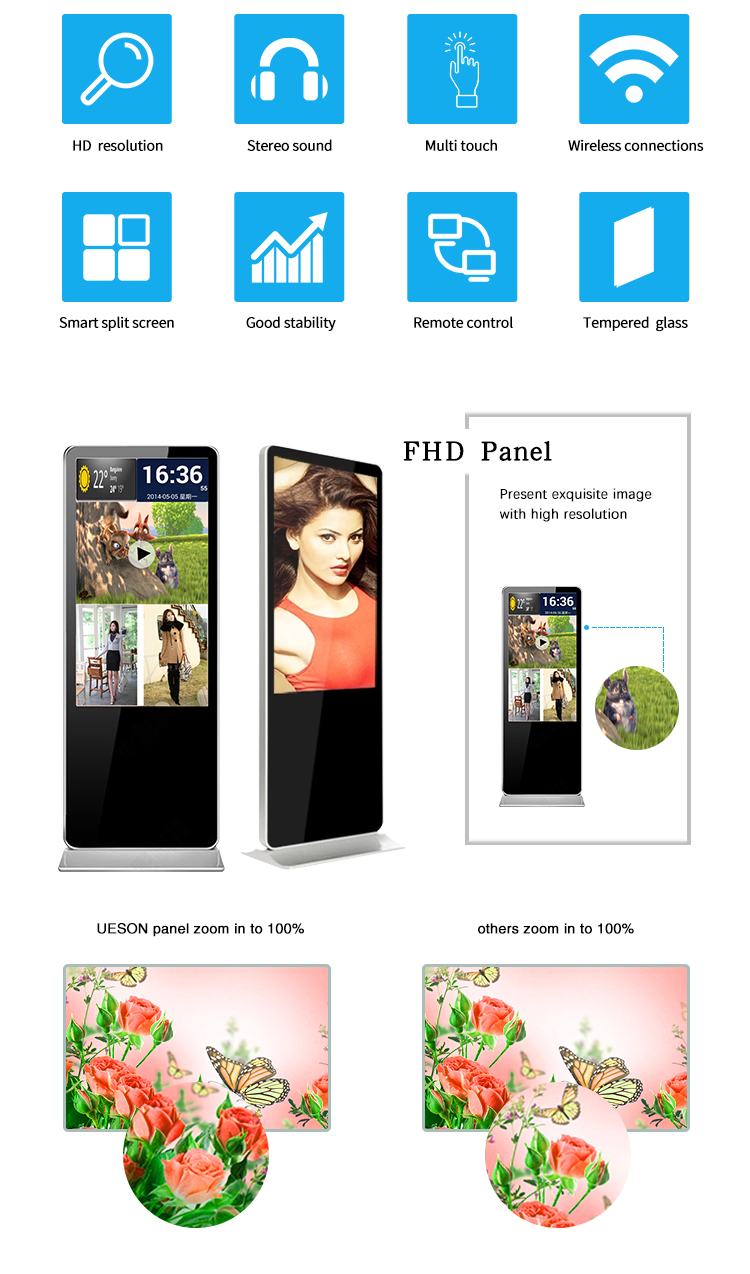 advertising digital signage monitor