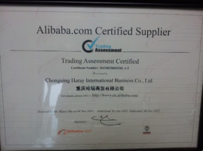 Alibaba.com Certified Supplier