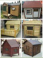 Pet Products Dog Club outdoor large wooden dog house