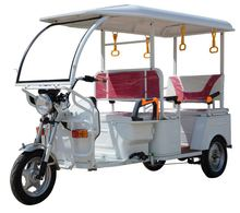 ICAT electric rickshaw solid bajaj tricycle manufacturers india
