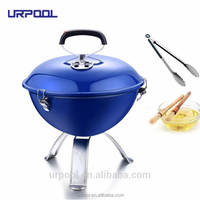 camping bbq grill barbecue mesh smoke free charcoal bbq grill