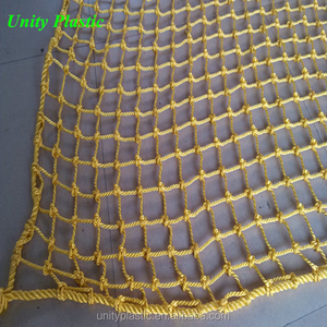Factory Supply PP Green Knotted Trailer Cargo Net