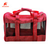 Multi-purpose Red Stripe Foldable Pet Carrier Bag Waterproof Fashion Cheap Pet Carrier Travel Bag
