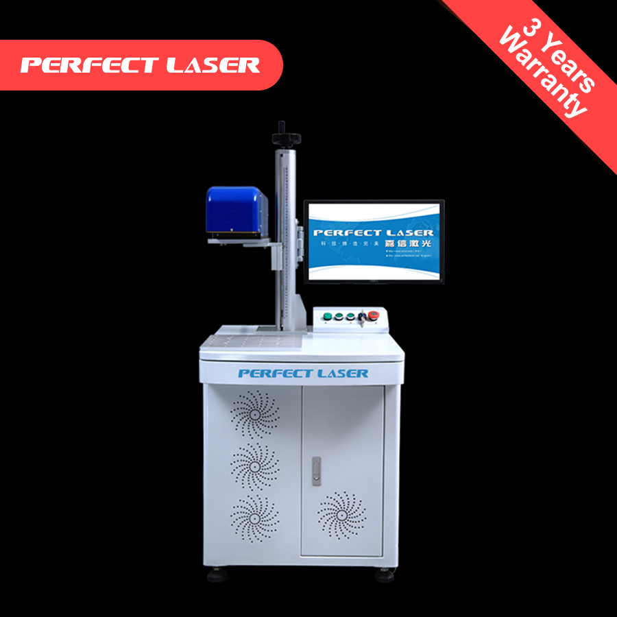 auto focusing optical fiber laser marking machine 50W deep engraving