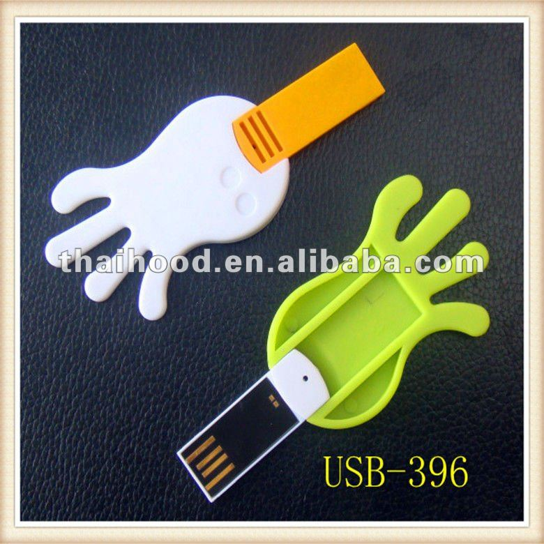 Hand shape USB flash memory Trendy USB memory sticks