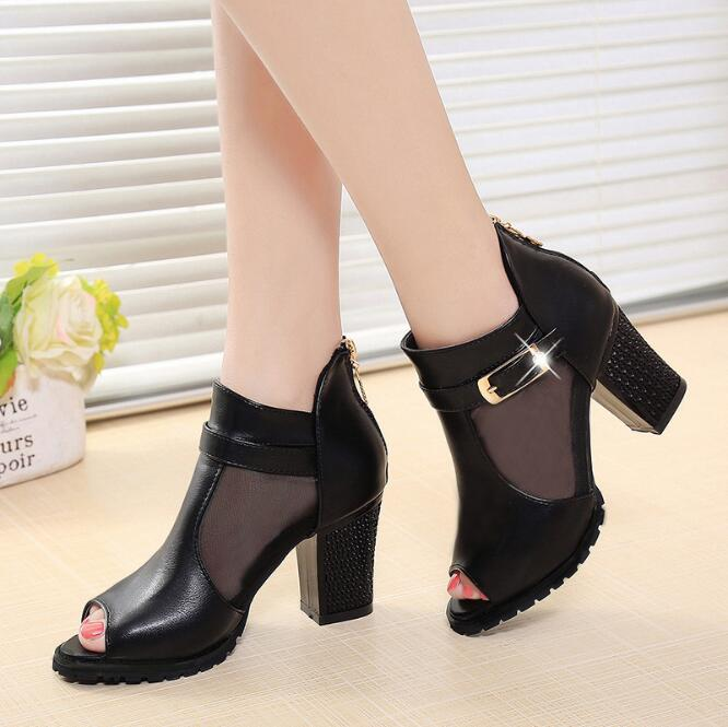 zm50276a Hot sale korean high heel shoes